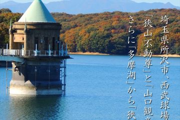 遊々さんぽ 「狭山湖」